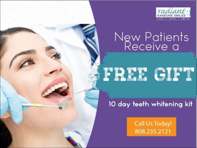 Radiant Kaneohe Smiles Sep 2017 New Patient Special DT